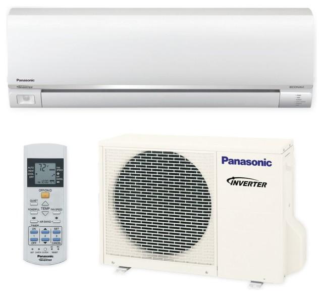 Panasonic 9,000 Btu 23 Seer Exterios E Ductless Mini Split Heat Pump 208-230v.