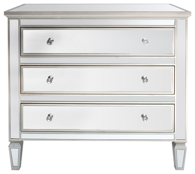 Louis Wide Mirrored Cabinet.