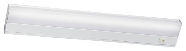 Direct Wire Fluorescent 13W 1-Light, White