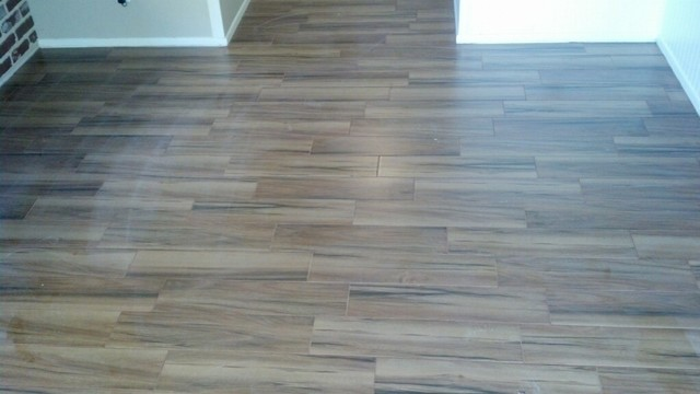 Acacia Natural Wood Look Porcelain Tile 6x24 Beach Style