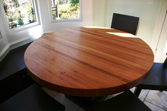 54 Round Dining Table And Chairs Contemporary Dining