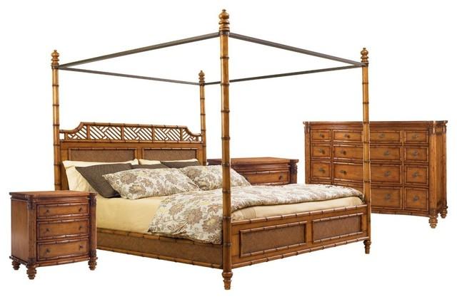 Tommy Bahama Home Island Estate West Indies 4-Piece Bedroom Set 1 ...