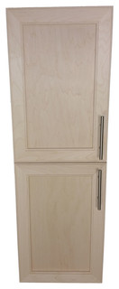 """Village BP on the Wall 2-Door Frameless 24/24 Pantry Cabinet, 2.5""""x51"""""""