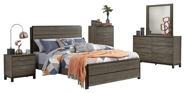 430 Gray Bedroom Set Cal King Free