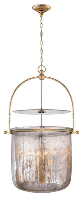 Visual Comfort Lighting E.f. Chapman Lorford 4 Light Pendant.