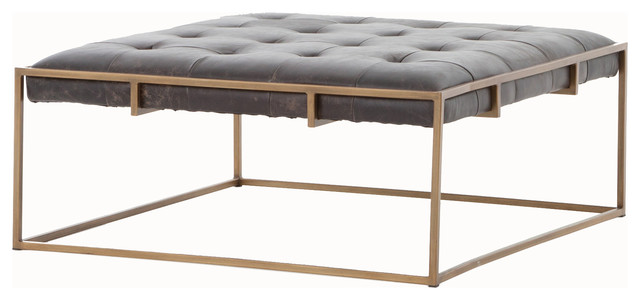 soren coffee table, square - transitional - coffee tables -the