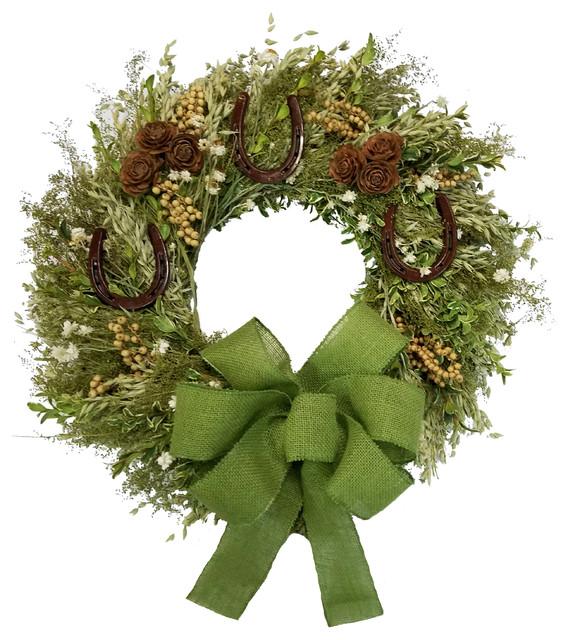 "Luck of the Irish Wreath, 22"""