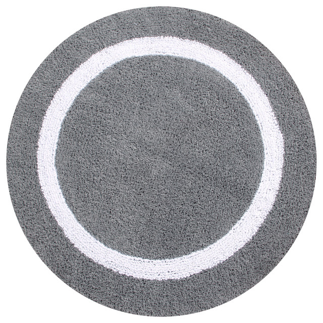 Hotel Collection Bath Mats: Hotel Collection Reversible Solid Bath Rug