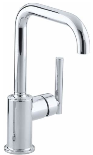 Kohler K-7509 Purist Single Handle Bar Faucet.