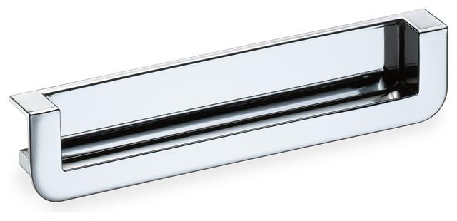 schwinn 2518 recessed edge pull polished chrome cabinet and drawer handle pulls by schwinn. Black Bedroom Furniture Sets. Home Design Ideas