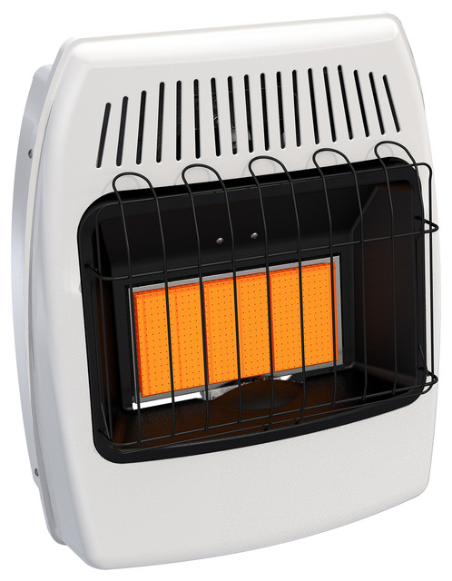 Dyna-Glo 18,000 Btu Natural Gas Infrared Vent Free Wall Heater.