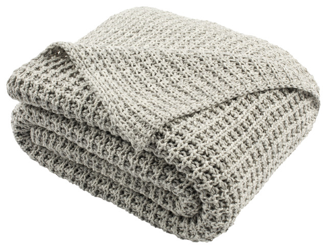 Safavieh Haven Knit Throw.