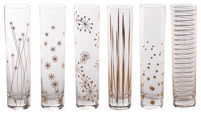 La Fete Champagne Flutes, 6-Piece Set