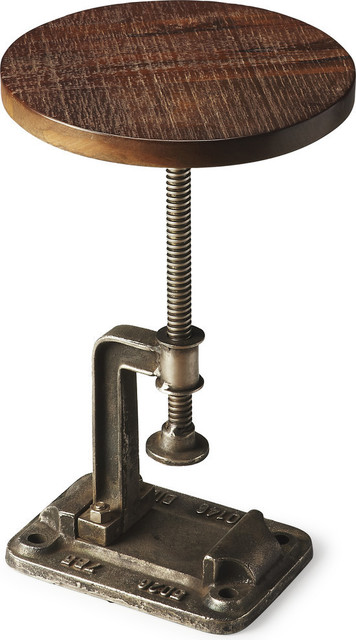Butler Ellis Industrial Chic Accent Table Industrial