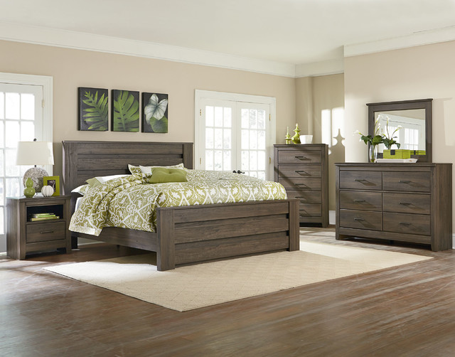 Hayward Mansion Bedroom Set - Rustic - Columbus - by American ...