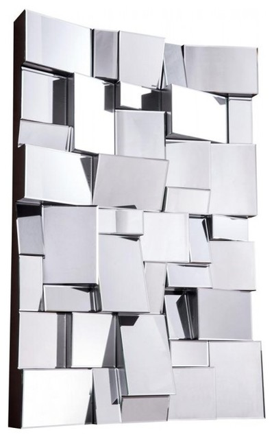 Contemporary Wall Mirror modern mirrorelegant lighting - contemporary - wall mirrors