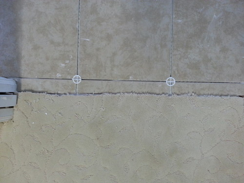 Old Fashioned Tile To Carpet Transition Concrete Floor Photo - Best ...