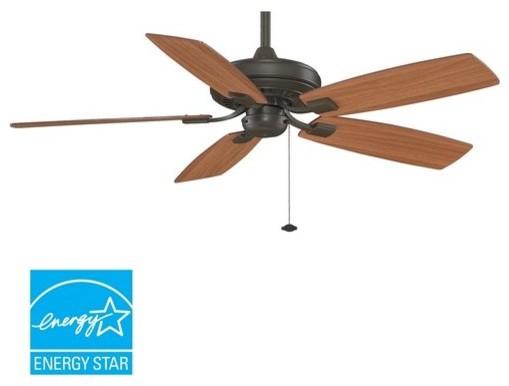 "Fanimation Edgewood Decorative 52"" 5 Blade Energy Star Ceiling Fan - Blades Incl."