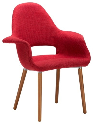 Poly And Bark Barclay Dining Chair, Red