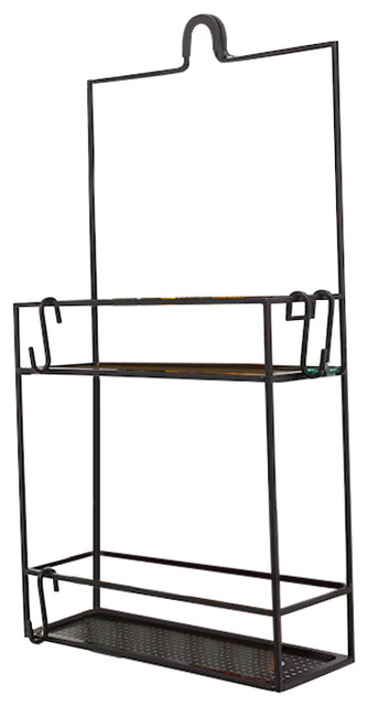 Umbra Cubiko Shower Caddy, Black - Industrial - Shower Caddies - by ...