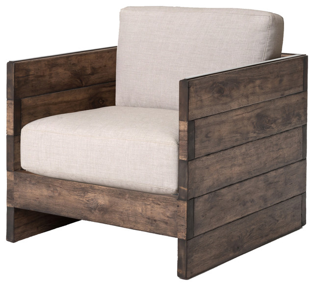 Delicieux Wesson Franklin Chair, Distressed Oak