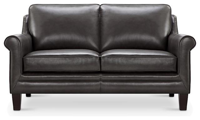 Clifton Top Grain Italian Leather Loveseat