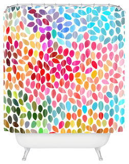 """Rain 6"" Shower Curtain by Garima Dhawan, 69""x72"""