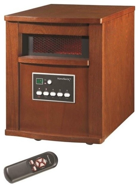 Homebasix WH-96H Electric Heater, 120 Volt, Cherry - Traditional - Space Heaters - by Life and Home