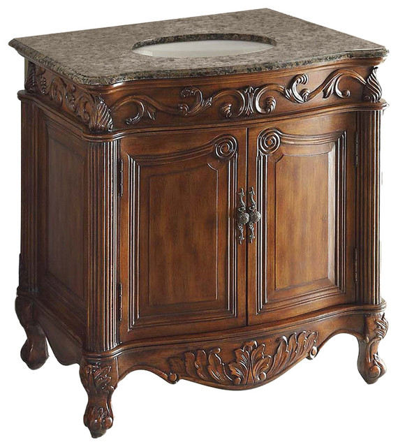 32 Traditional Style Fiesta Antique Style Bathroom Sink Vanity Victorian Bathroom Vanities And Sink Consoles By Chans Furniture Showroom Houzz