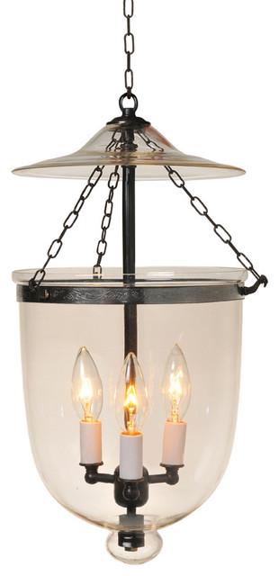 Bell jar lighting fixtures Etched Clear Hundi Glass Bell Jar Lantern 9 Houzz Clear Hundi Glass Bell Jar Lantern 9