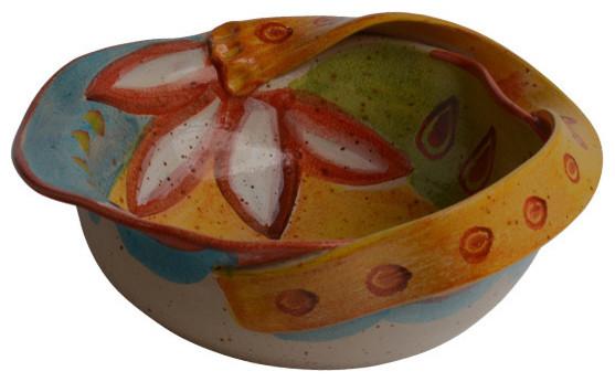 Campo de Fiori Medium Bowl With Ribbon contemporary-decorative-bowls