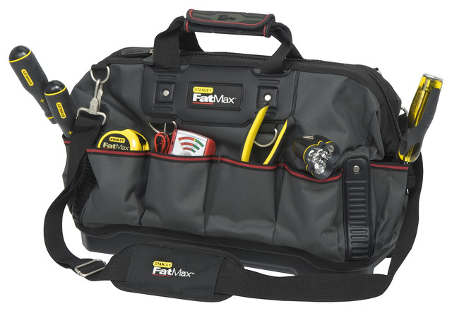 Stanley 18 Stanley Fatmax Open Mouth Tool Bag.