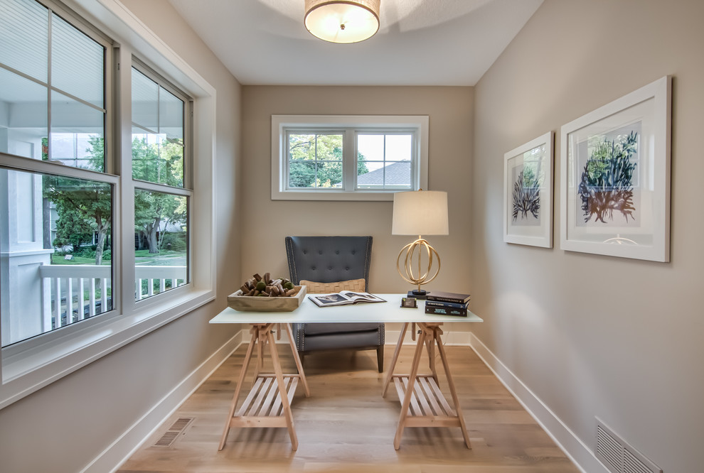 Home design - transitional home design idea in Minneapolis
