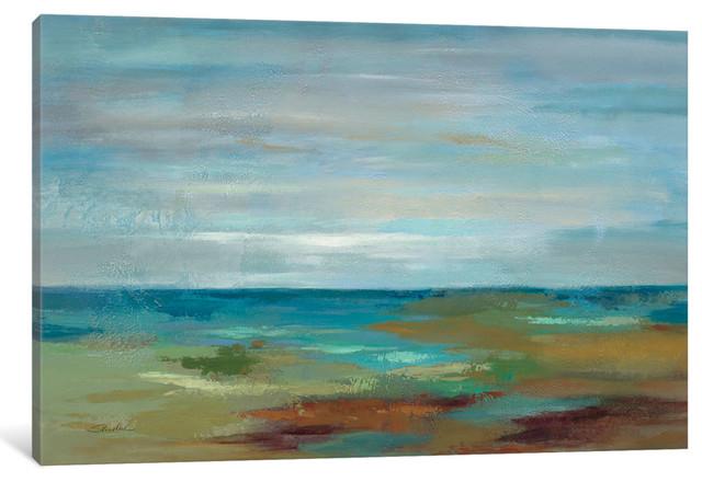 """wispy Clouds Gallery"" By Silvia Vassileva, 26x18x0.75""."