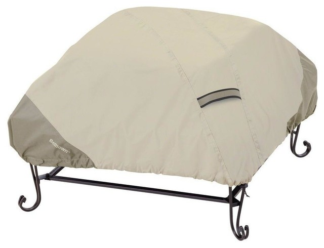 Belltown Fire Pit Cover Contemporary Outdoor Furniture Covers by Classi