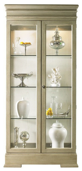 Lillian August Sterling Curio Cabinet   China Cabinets And Hutches   By  Lillian August