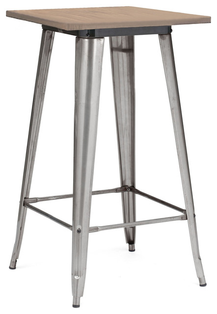 Dreux Steel Bar Table Industrial Indoor Pub And Bistro
