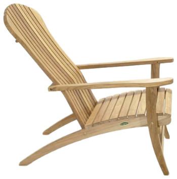 Chandler Adirondack Chair, Antique Beige.