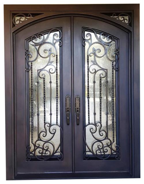 & you make custom door ? opoening 67w 96.5 in Tampa iron door square