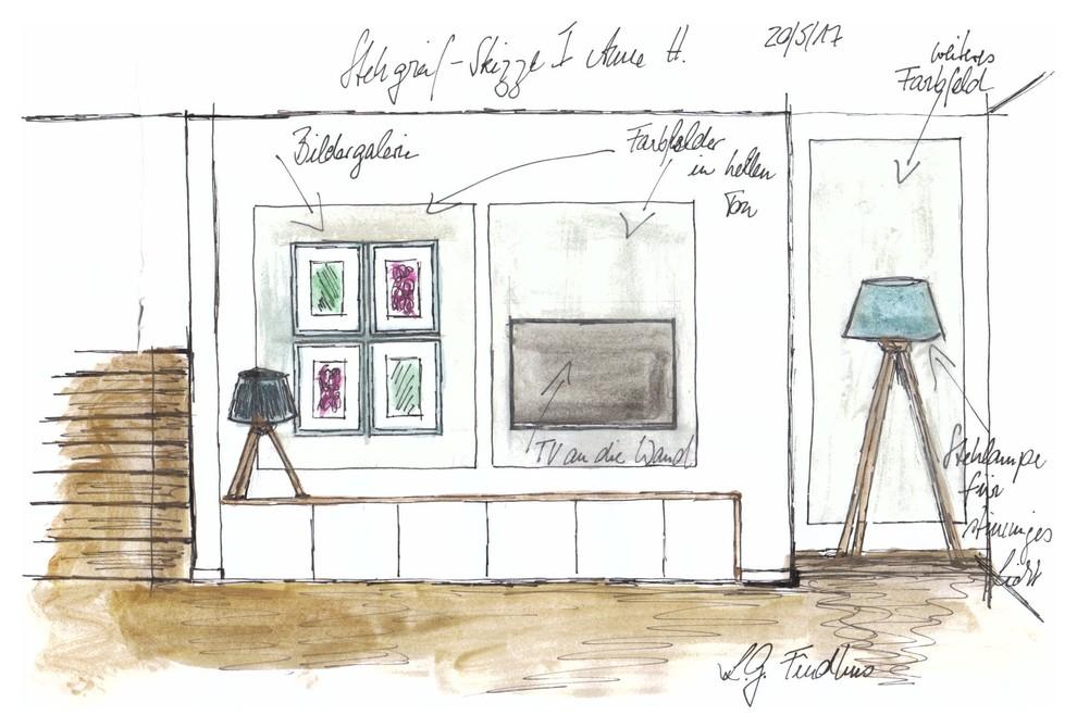 Stegreif-Skizze I Anne H.