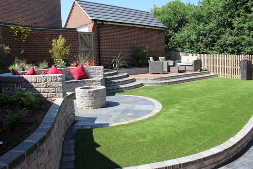 New Build Garden Design - Garden Design Ideas