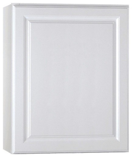 Wall Cabinet White 24x30