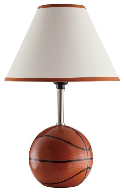 Kids Sports Basketball Table Lamp