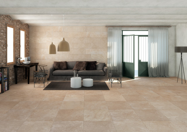 stone look tiles tribeca harrison contemporary living room perth by ceramo tiles. Black Bedroom Furniture Sets. Home Design Ideas