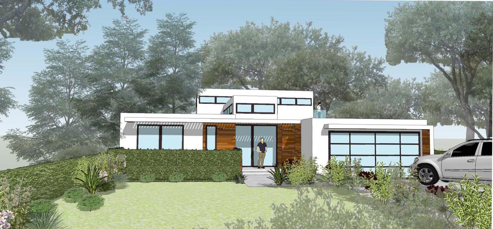 Mid-Century Modern Residence in Glendale