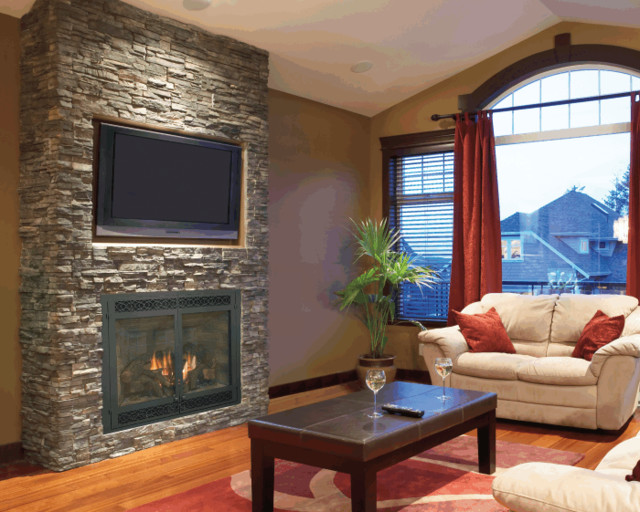 Stone Fireplace Designs With Tv Above Best Image Voixmag
