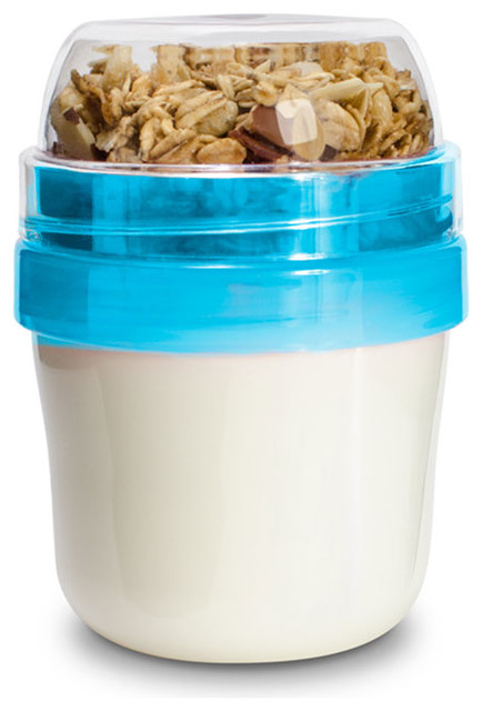 Yogurt Travel Jar Contemporary Food Storage Containers by