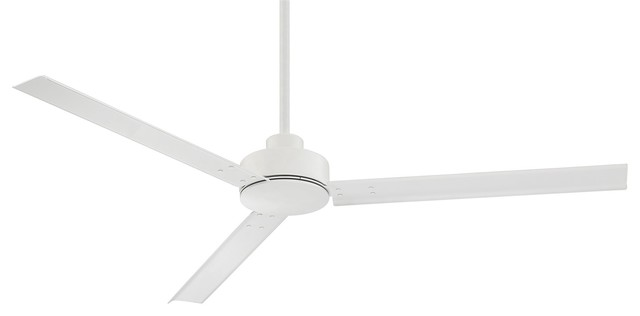 Regency Indy 3 Speed 56 Indoor Ceiling Fan Matte White Transitional Ceiling Fans By Lighting And Locks