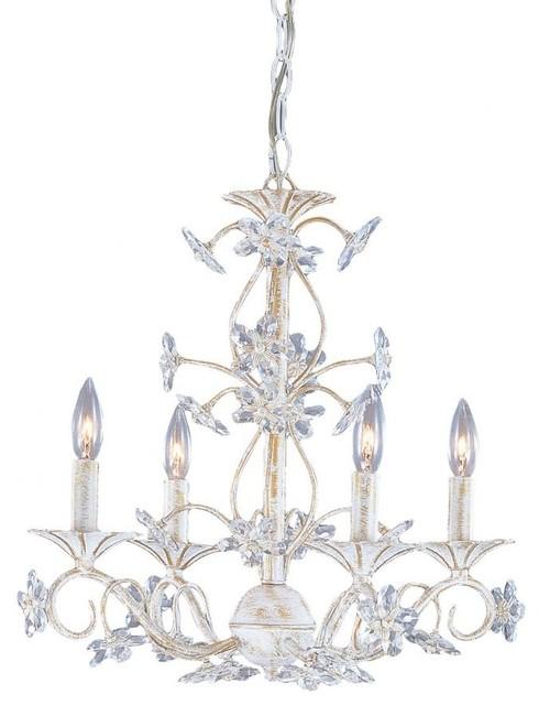abbie four light antique white up mini chandelier chandeliers by we got lites