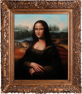 Da Vinci Mona Lisa Modern Paintings By Overstockart